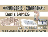Menuiserie - Charpente Denis James - Saint-Laurent-de-Cuves