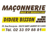 Maçonnerie Didier Bisson - Saint-Laurent-de-Cuves