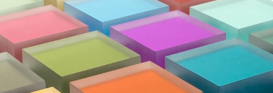 Luminous by Lumicor - viele Farben und Möglichkeiten der Verarbeitung für die individuelle Gestaltung.