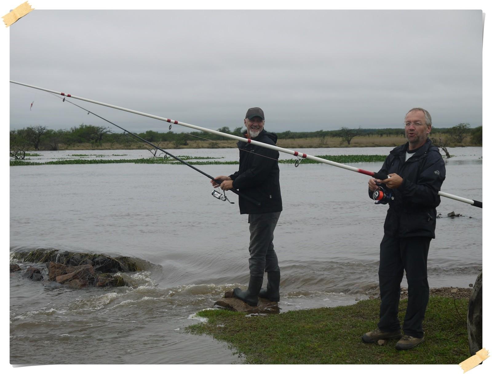 und mit Marc gefischt