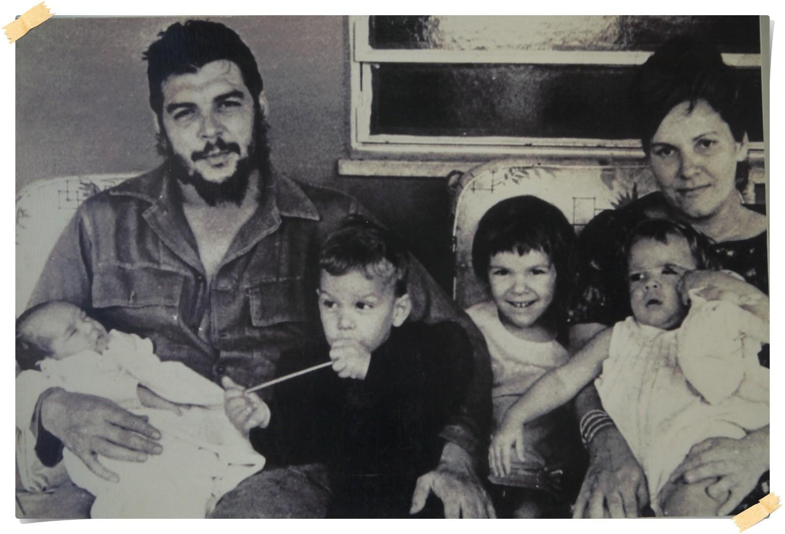 Das letzte Foto mit seiner Familie vor seiner Ermordung