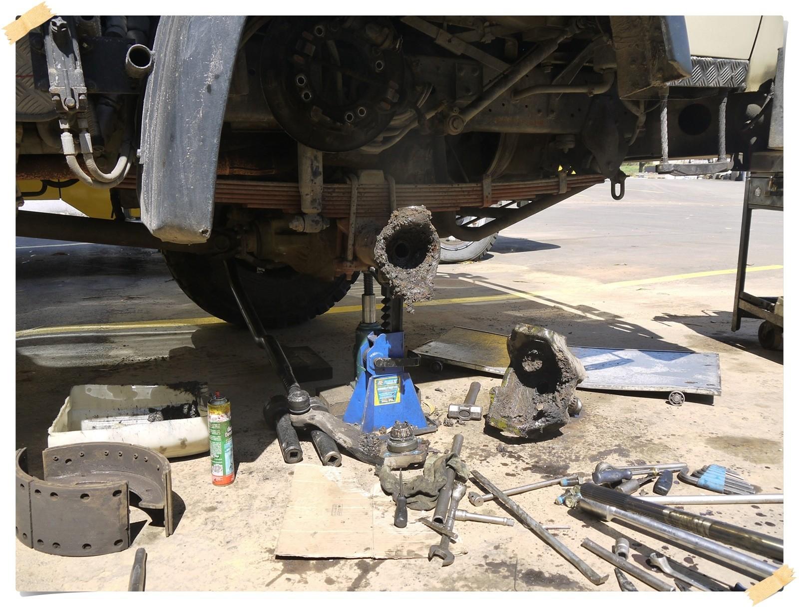 Probleme mit den Bremsen, eine schier unlösbare Aufgabe