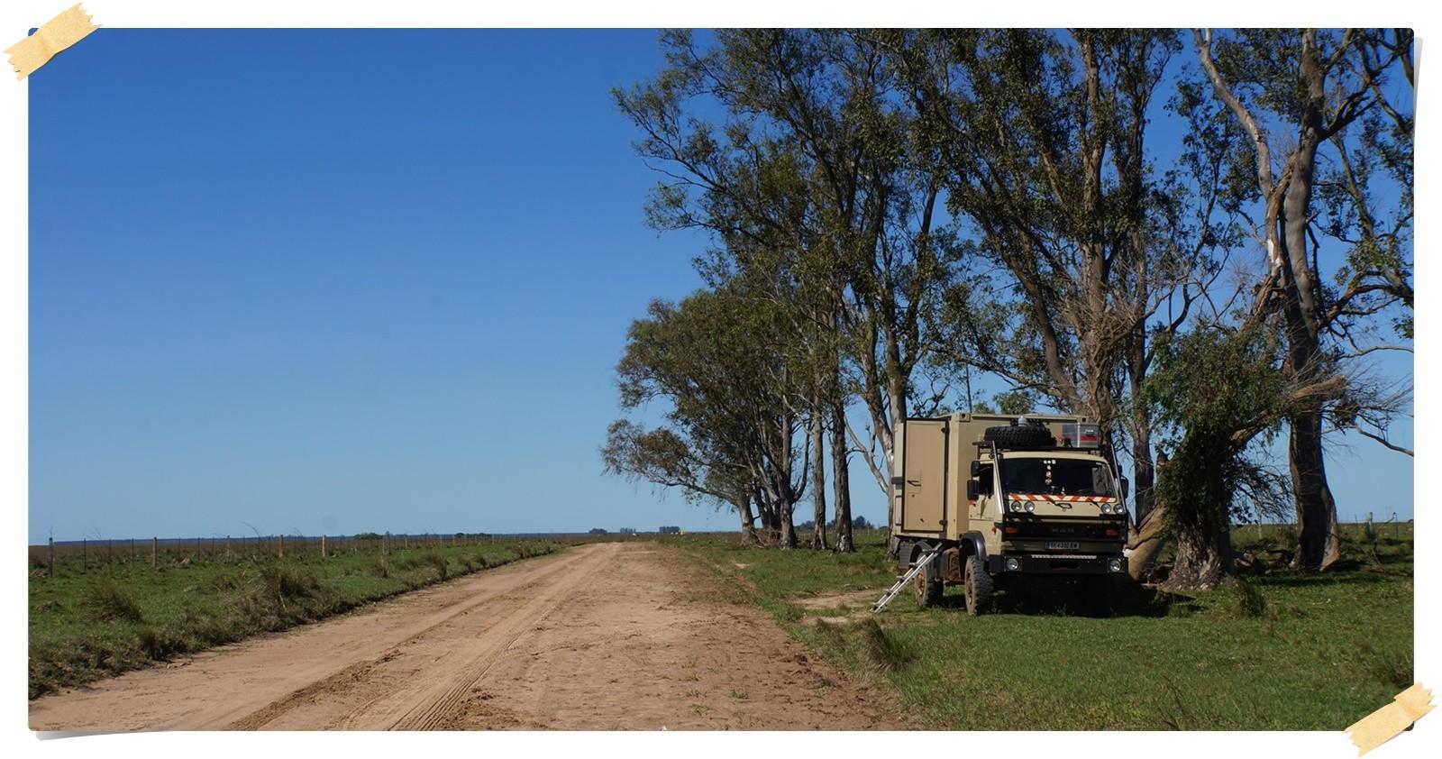 120 Km Piste aus dem Reserva heraus