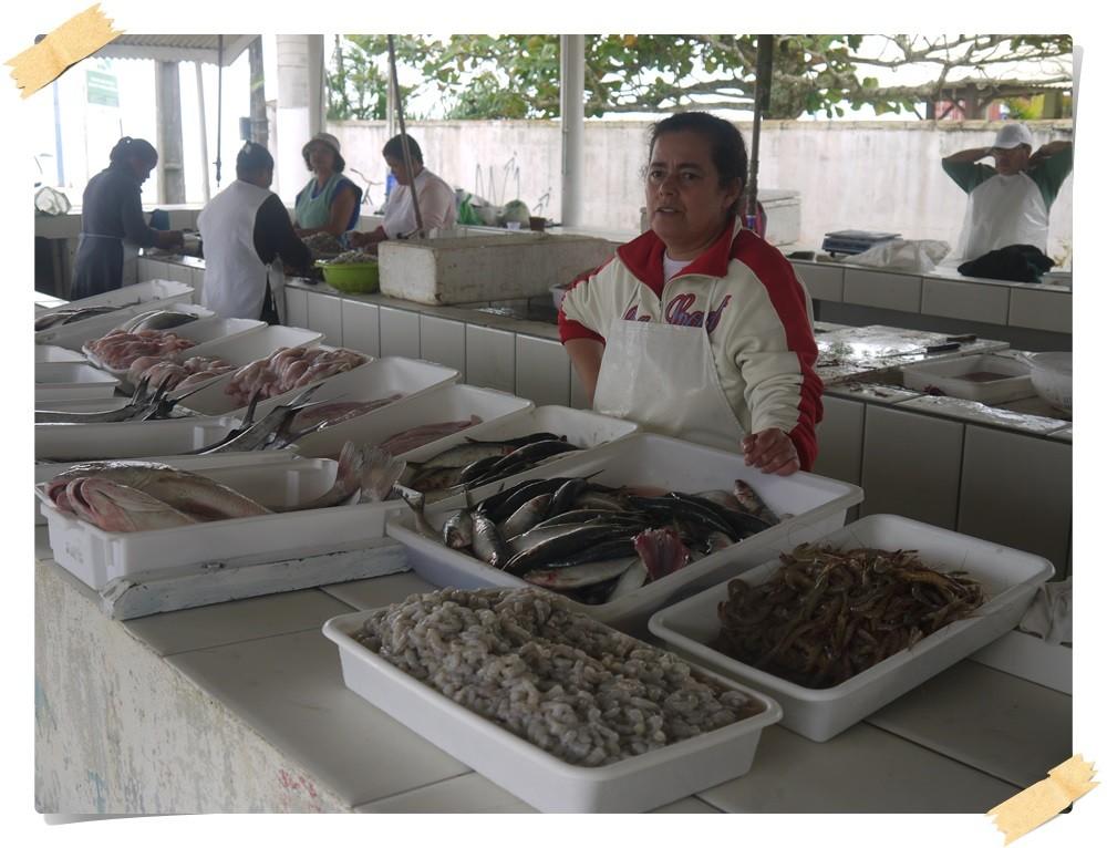Fischmarkt in Itapoa
