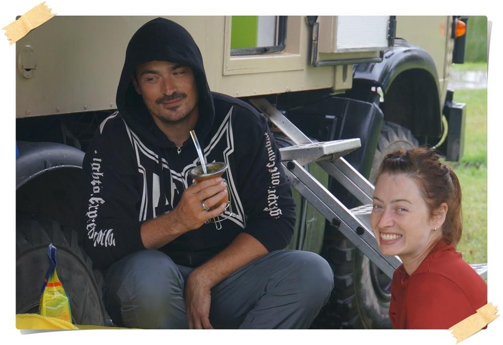 Miguel und Tatjana aus Brasilien