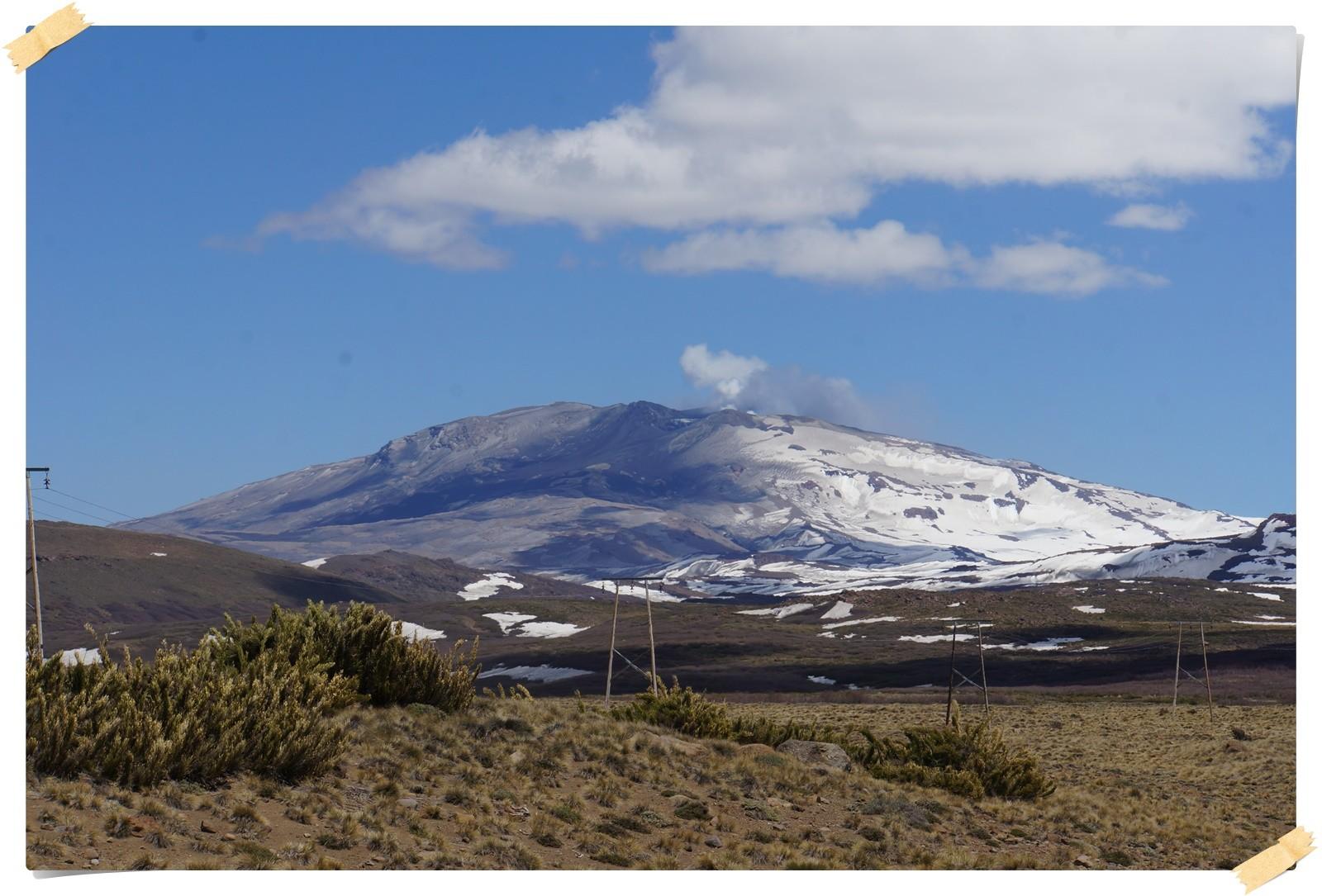Vulkan Lanin 3776 Meter
