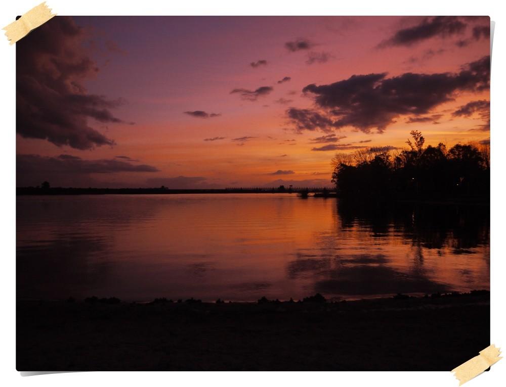 Sonnenuntergang Rio Uruguay