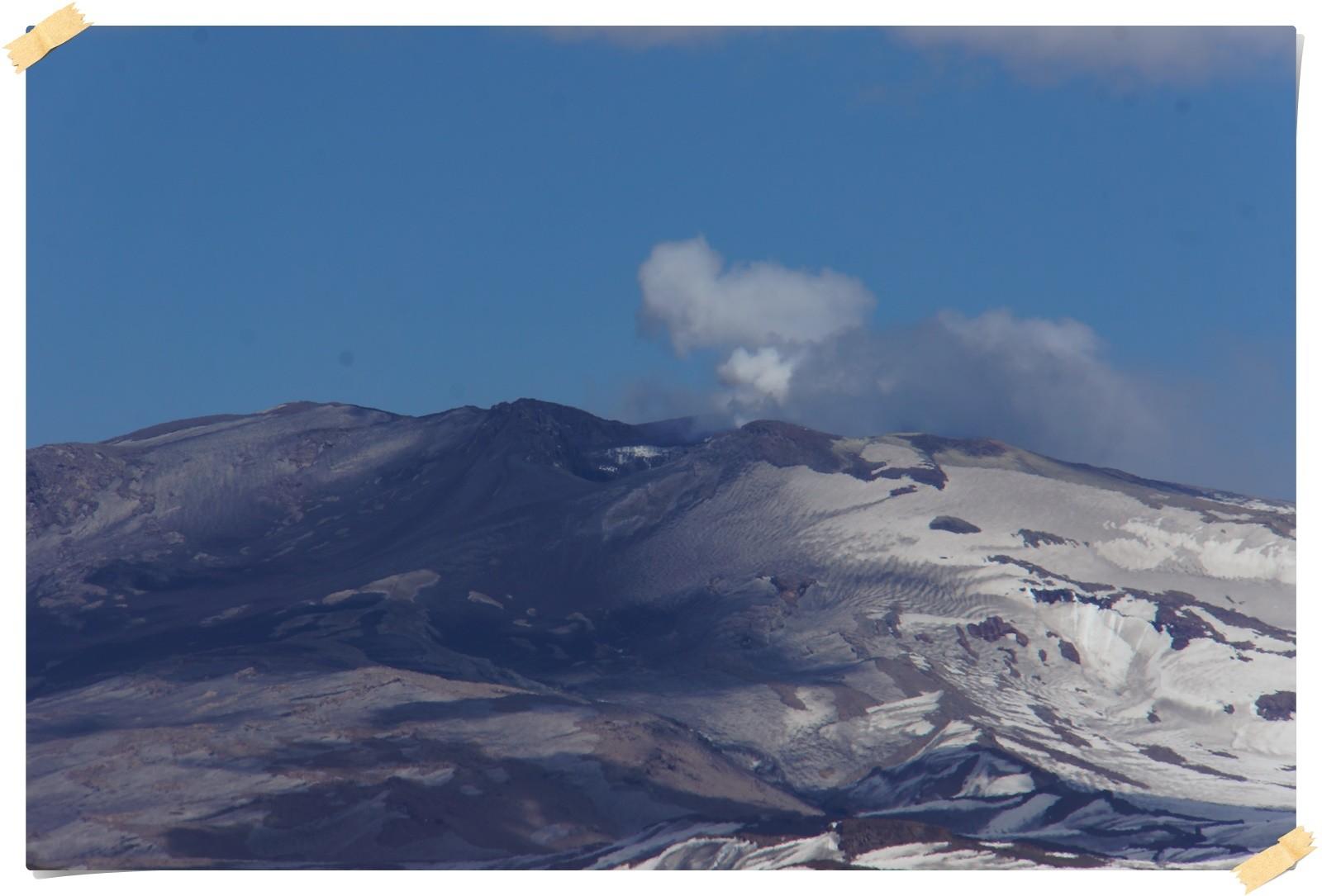 Aktiver Vulkan Lanin