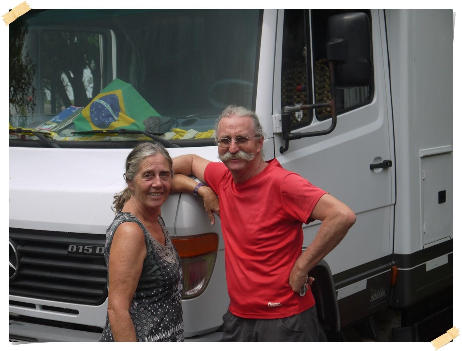Hans und Doris waren 3 1/2 Jahre in Südamerika unterwegs, jetzt gehts heim.