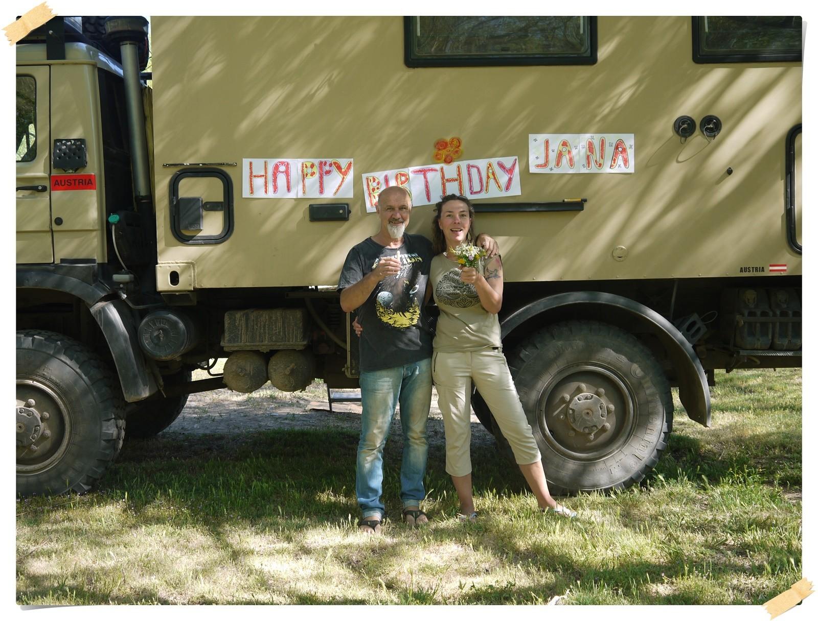 Geburtstagsgrüße an Jana