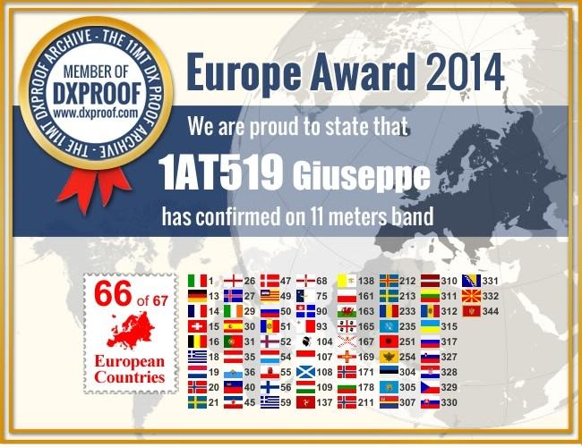 AWARD EUROPE