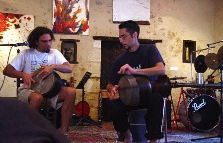 Concert de Zarb: Bruno Talavera, Loïc Bescon, percussions