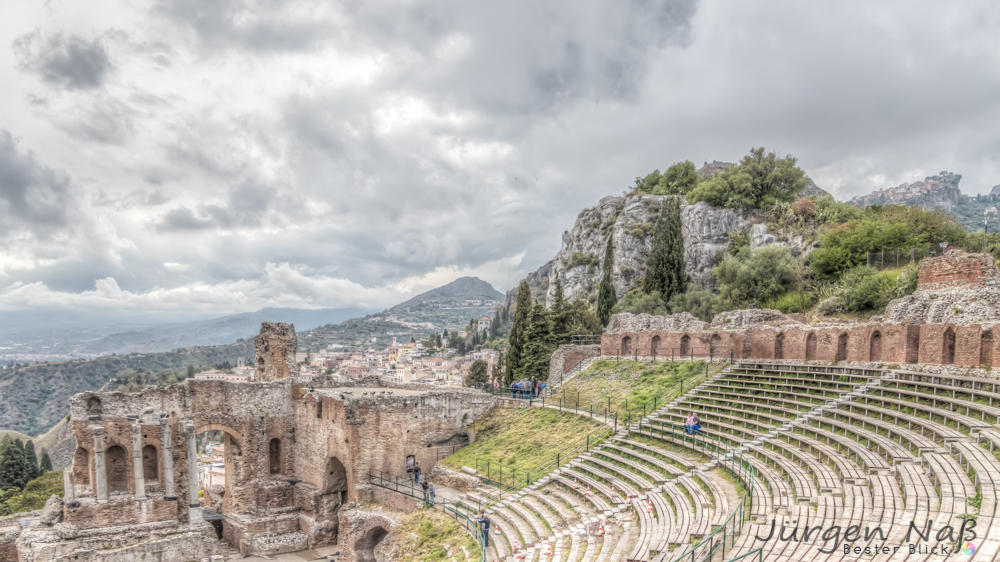 Amphitheater in Taormina