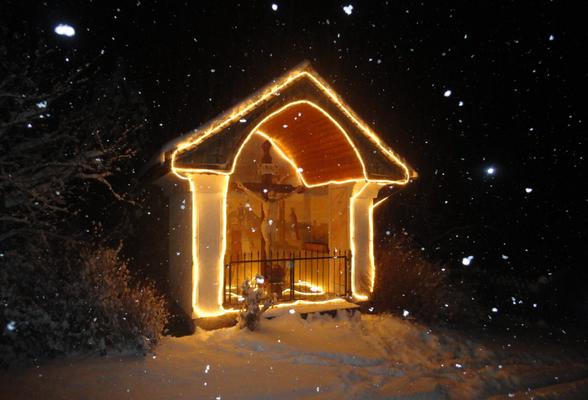 Stille Nacht, Heilige Nacht - die Hauskapelle Moarhofer