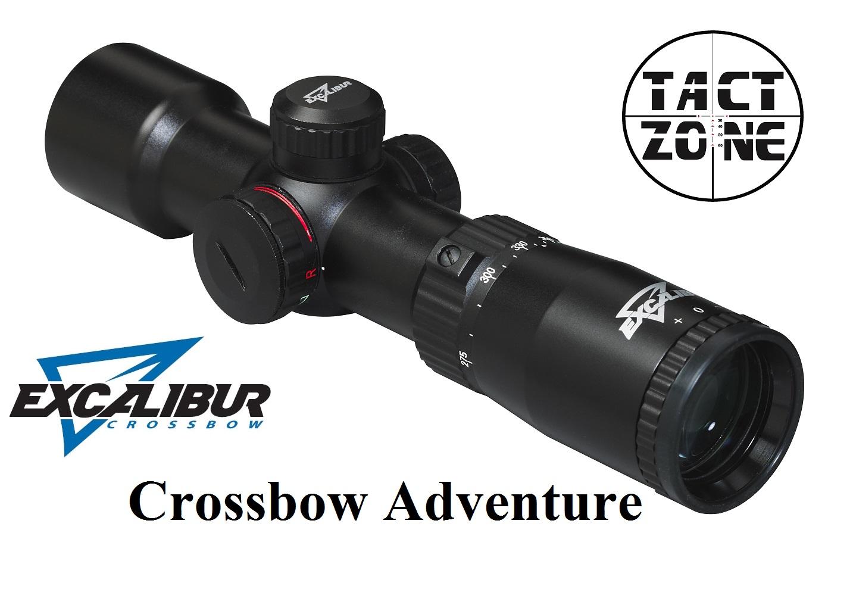 Zielfernrohr excalibur tact zone crossbow adventure