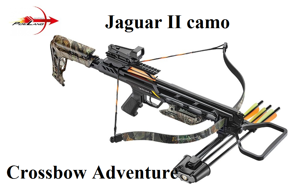 armbrust poelang jaguar ii camo crossbow adventure. Black Bedroom Furniture Sets. Home Design Ideas