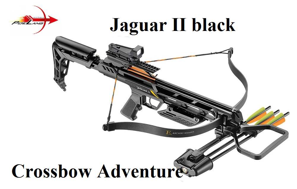 armbrust poelang jaguar ii black crossbow adventure. Black Bedroom Furniture Sets. Home Design Ideas