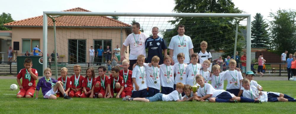F-Jugend: beide Pokalfinalisten