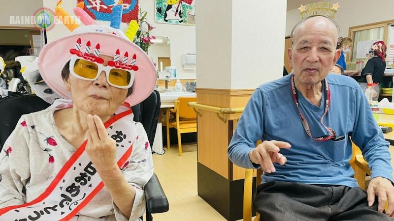 合同誕生日会(さくらんぼ,訪問看護・福岡/レインボーアース)