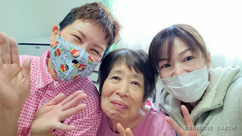 今年も最後(さくらんぼ,訪問看護・福岡/レインボーアース)