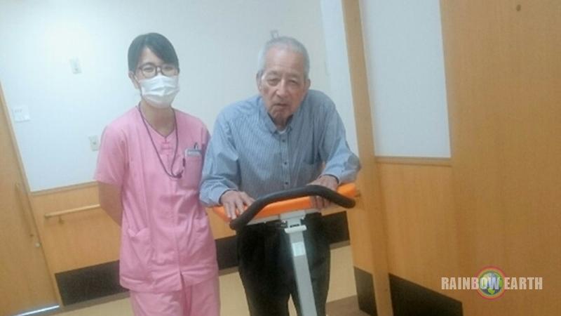 リハビリの時間が…(笑)(さくらんぼ,訪問看護・福岡/レインボーアース)