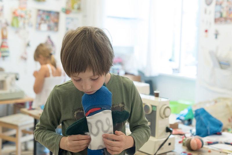 Herr Sorgenfresser, Kinder-Kreativwerkstatt