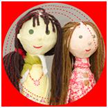 selbstgebaute Puppen, Kreativwerkstatt