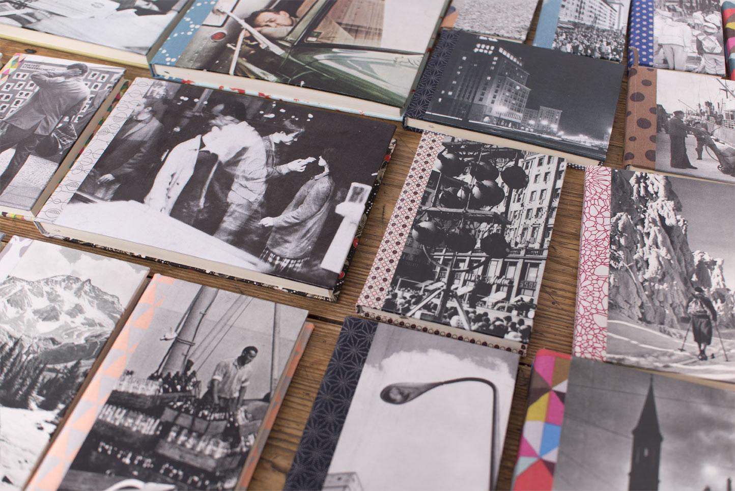 Handgebundene Bücher der Designerin Stephanie Niesner