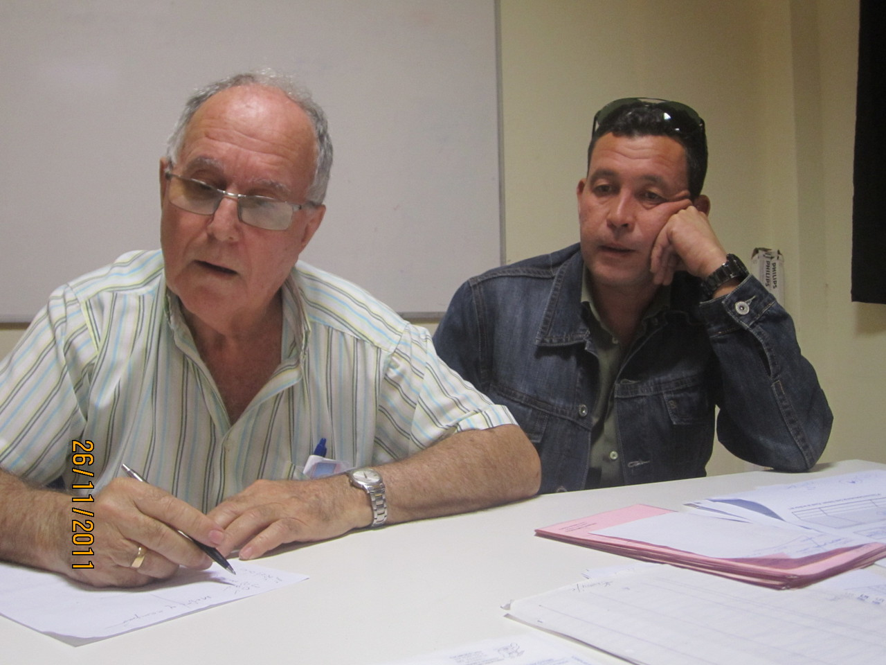 Juan Déniz Reyes y Juan Carlos Reyes Pérez