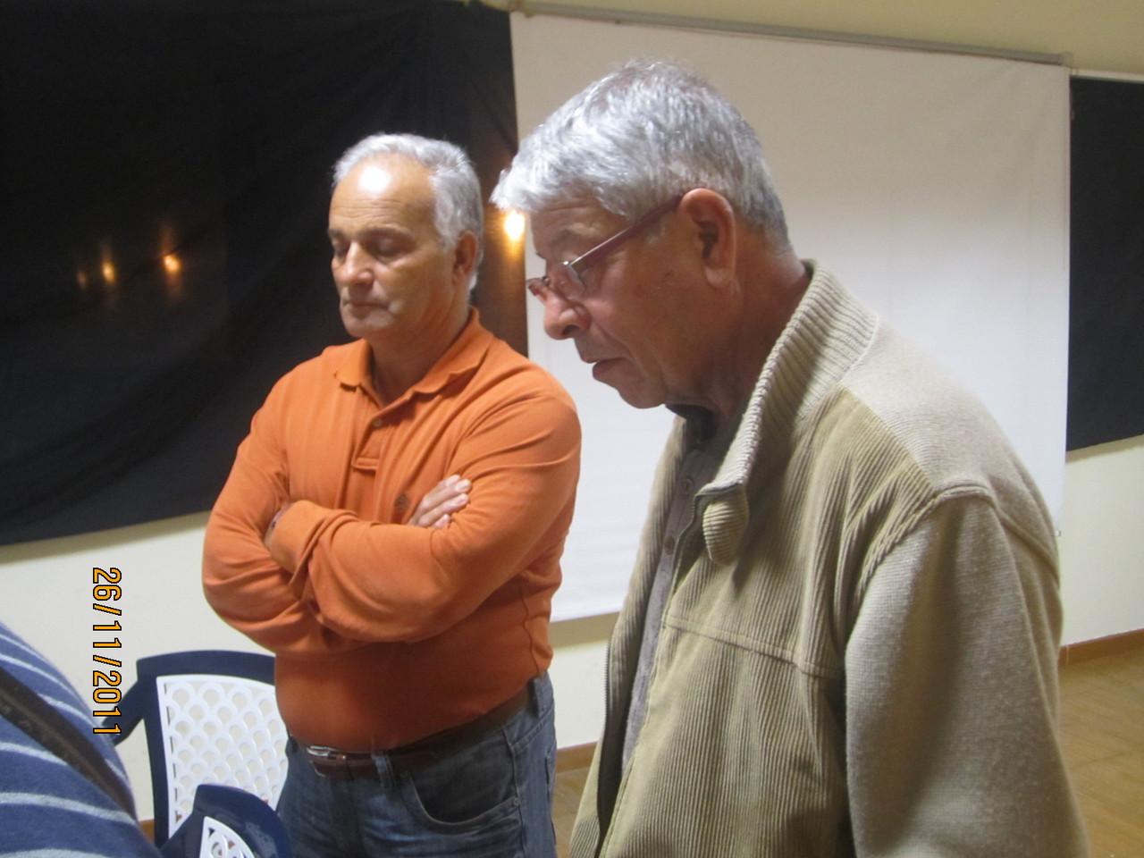 Un compañero de Arrecife y José Rodríguez Pulido