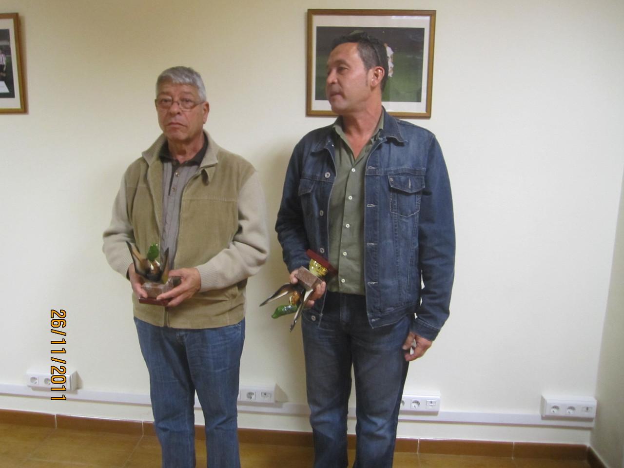 José Luis Rodríguez Pulido y Juan Carlos Reyes Pérez