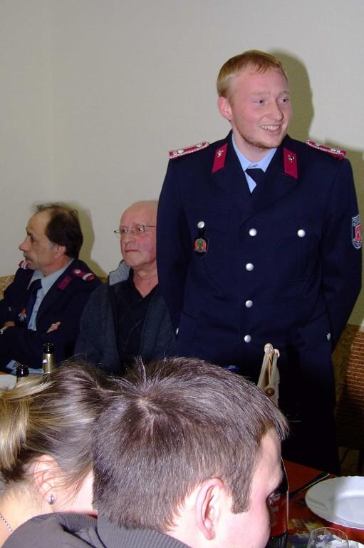Behrendorfs Wehrleiter Johannes Schäfer
