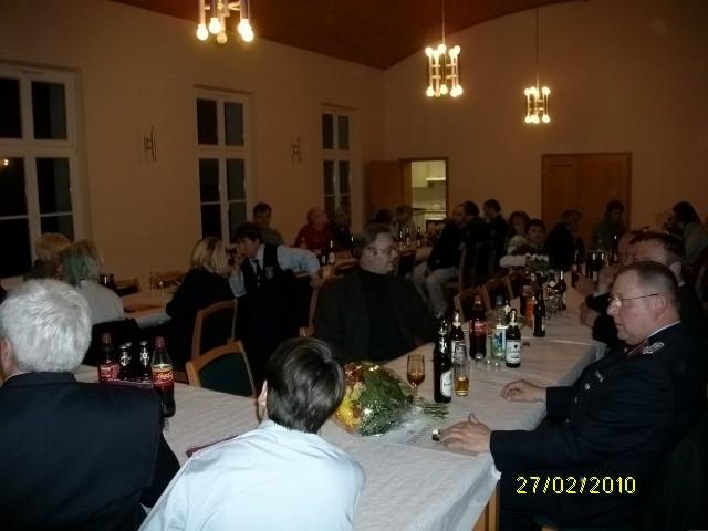 gut besucht war Jahreshauptversammlung der FFw Behrendorf