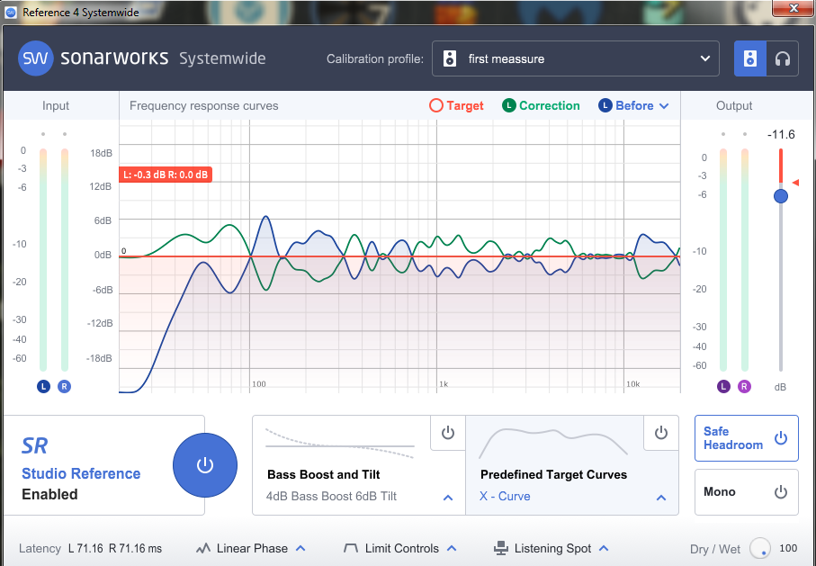 Sonarworks EQ - Room Measurement App Before and After