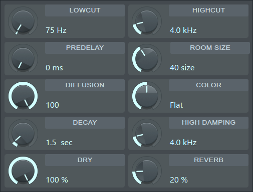 fl studio fruity reverb