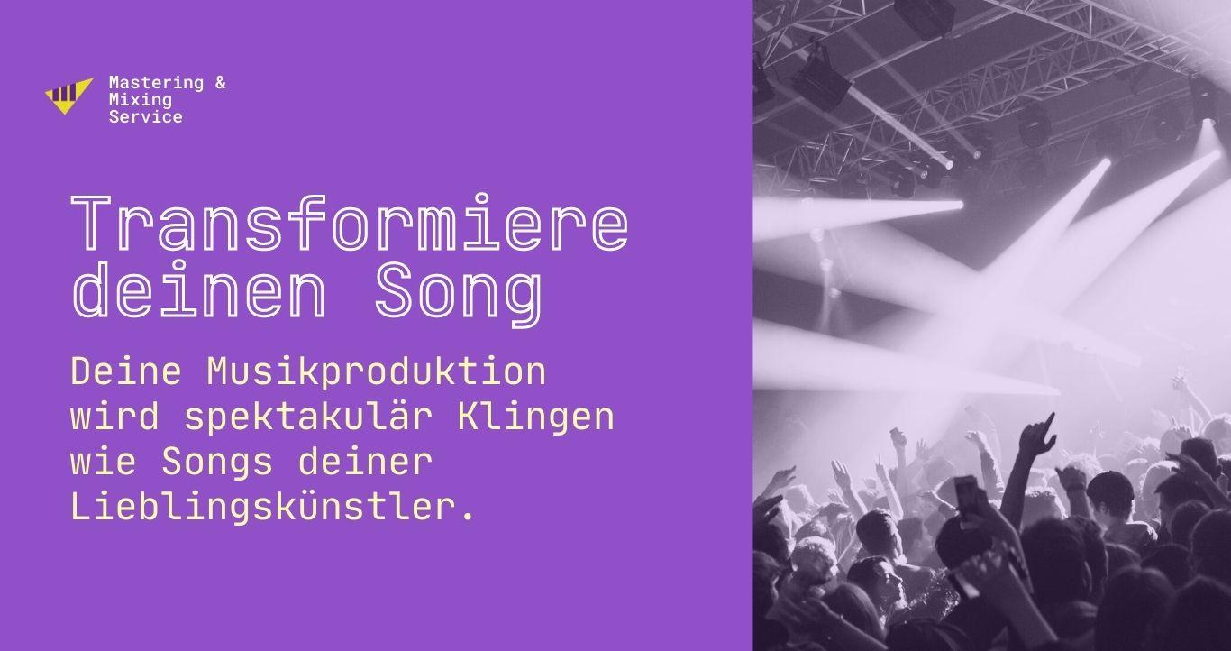 Online Audio Mastering - Tonstudio Leipzig