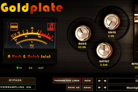 Best Reverb by Kush Audio Goldplate