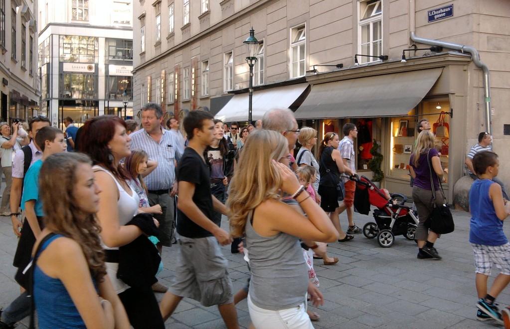 Ausflug mit Jugendorchester ins Haus der Musik nach Wien am 10. September 2011