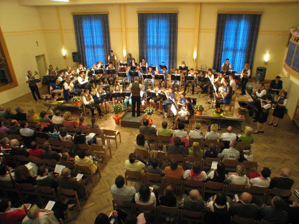 Frühjahrskonzert mit Jugendorchester am 25.April