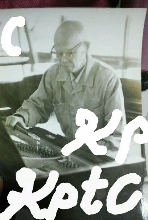 先々代 宮木調律技師 河合製作所の技術指導責任者をされてた調律王と呼ばれた方です。