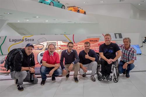 Der Besuch im Porsche Museum