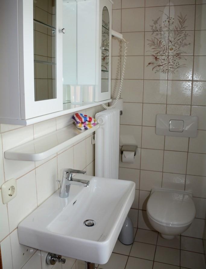 Badezimmer Fewo BERGBLICK