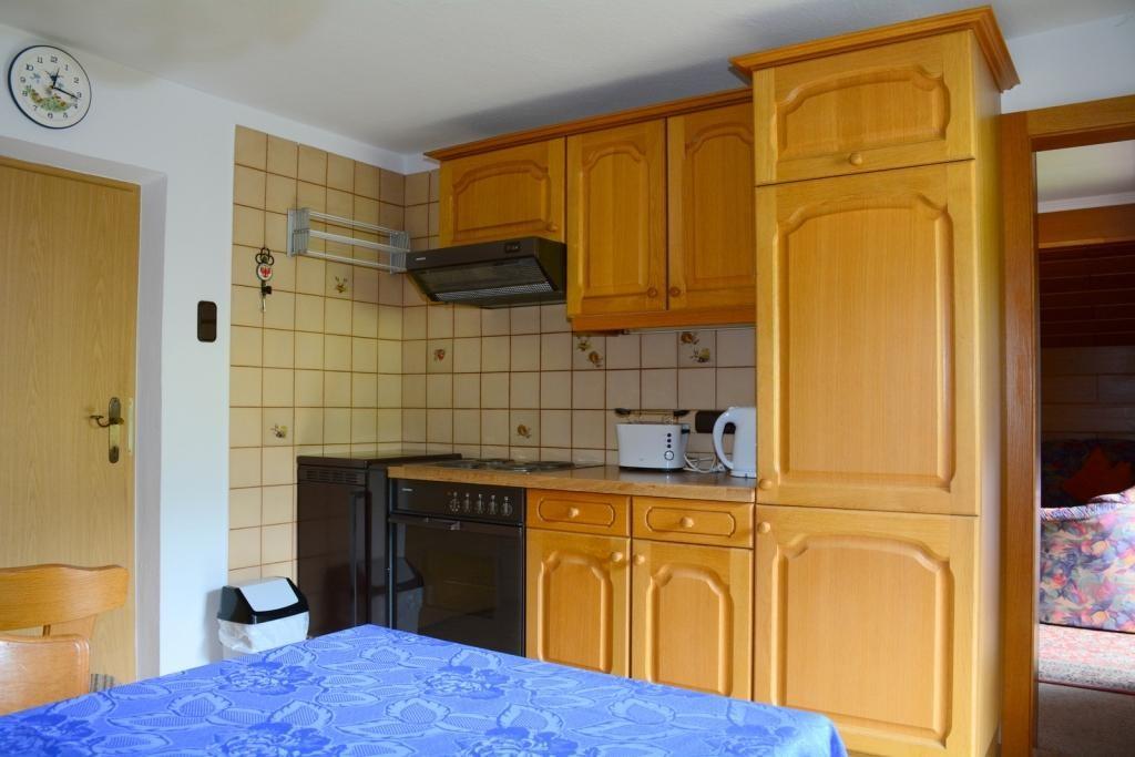 Wohnküche Fewo KAISERBLICK
