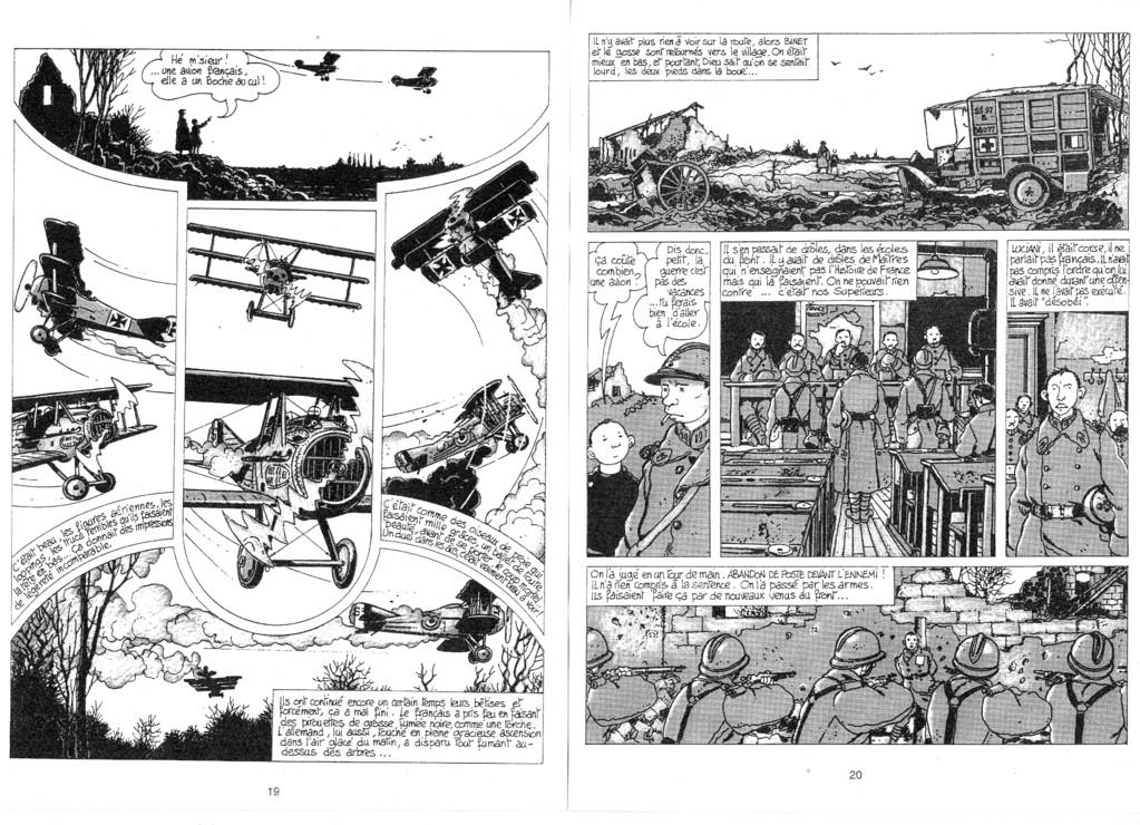 """""""Cétait la guerre des tranchées"""", Tardi, éd. Casterman, 1993 (DR)"""