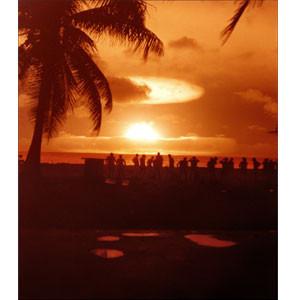 Essai Mohawk, atoll Enewetak, 1956.