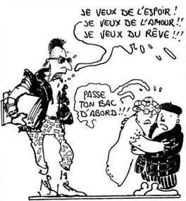 (Plantu « C'est le goulag», La Découverte / Le Monde, 1983, DR)