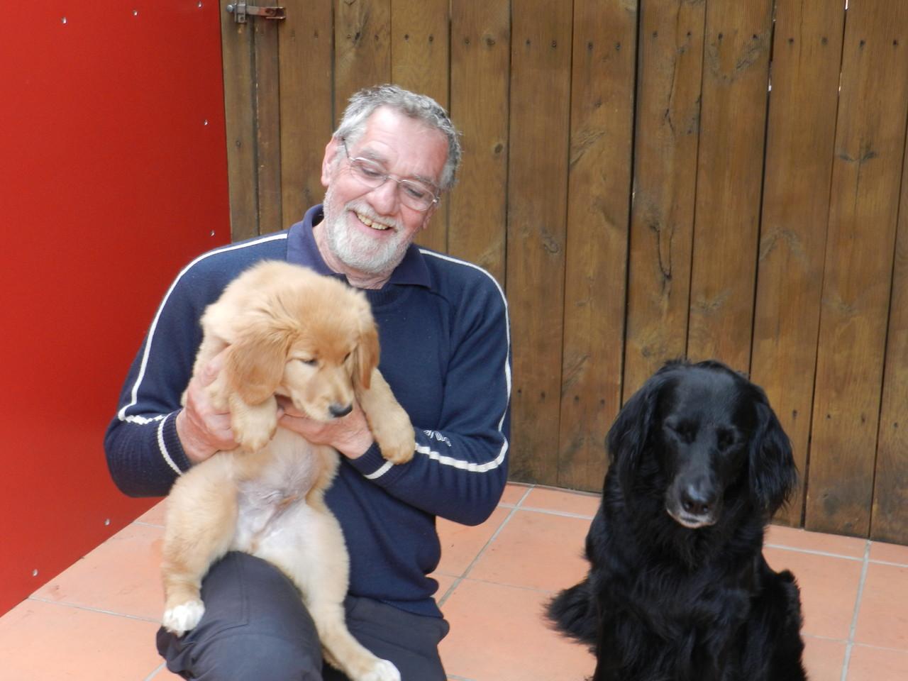 Ditz ist jetzt bei Karl und seinem Vater Jago u. Opa Baxter