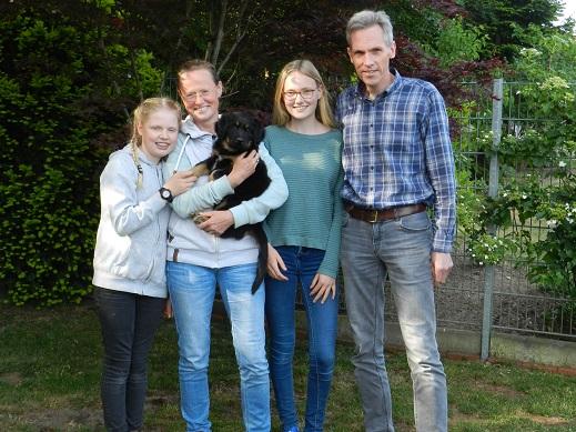 Faduk mit Frida, Anja, Carla und Stefan aus Ostbevern