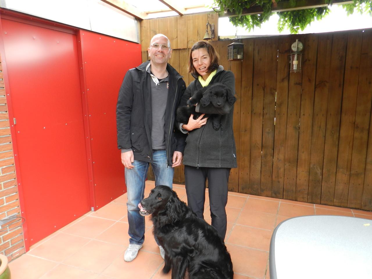 Delta wohnt jetzt bei Anina u. Christopher in der Nähe von Trier