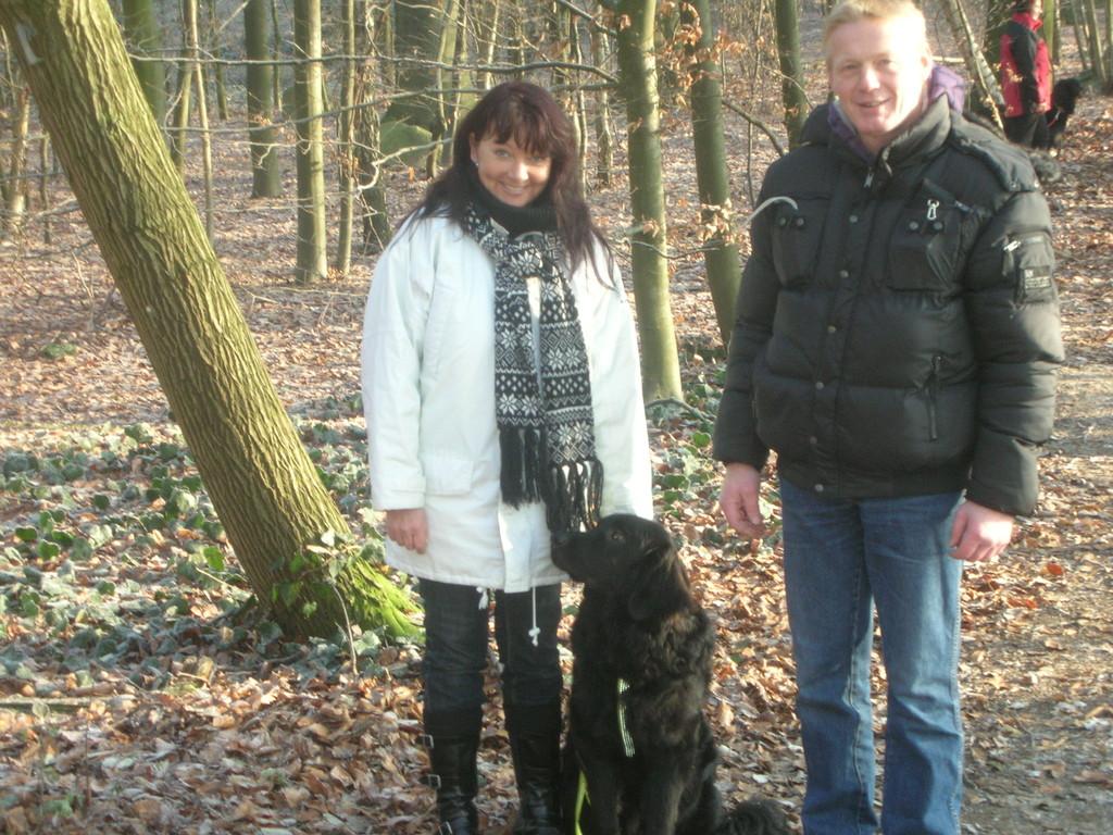 Michel (Butz) mit Erika und Andy